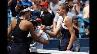 2017 Western & Southern Open Semifinals | Garbiñe Muguruza vs Karolina Pliskova | WTA Highlights