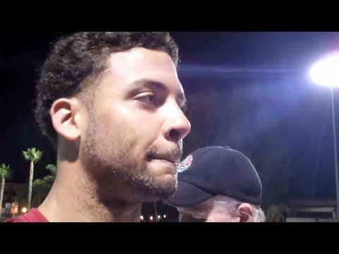 ESPNLosAngeles.com: USC running back Dillon Baxter talks after fall camp opener 8/4/11