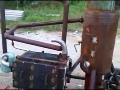 Wood Gasifier, homemade high