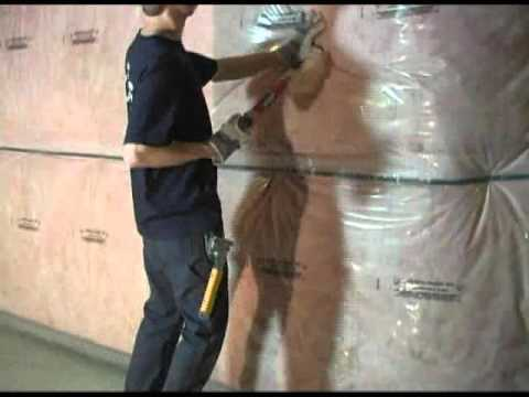 Tlp foundation blanket youtube for Foundation blanket insulation