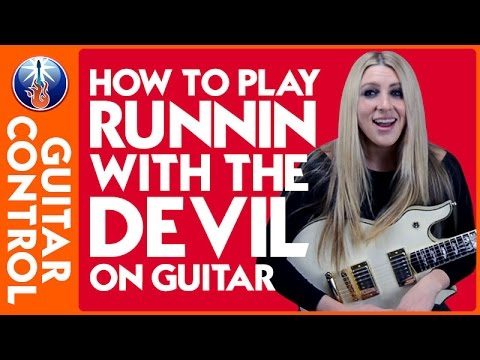 How to Play Runnin with the Devil on Guitar - Eddie Van Halen Lesson
