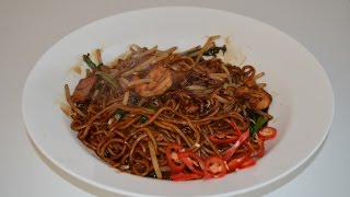 NOODLES - MALAYSIAN FRIED HOKKIEN MEE- HOME MADE NOODLES