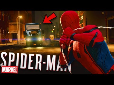 SPIDERMAN HIT BY A CAR | Marvel's Spider-Man #4