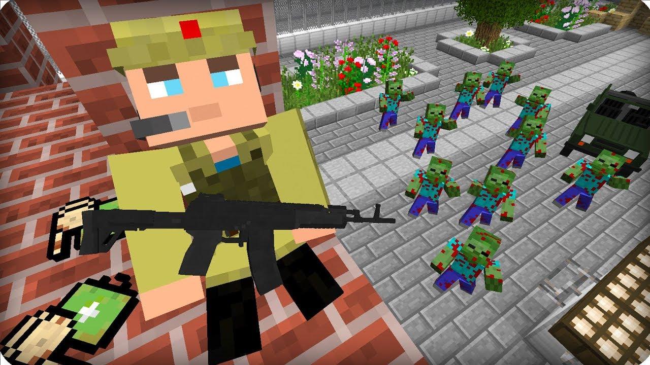 играть в майнкрафт зарегистрироваться зомби апокалипсис