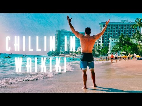 Chilling in Waikiki - Layne's Hawaii VLOG  Day 2