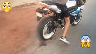suzuki gsx r750 Heavy Bike Sound Test
