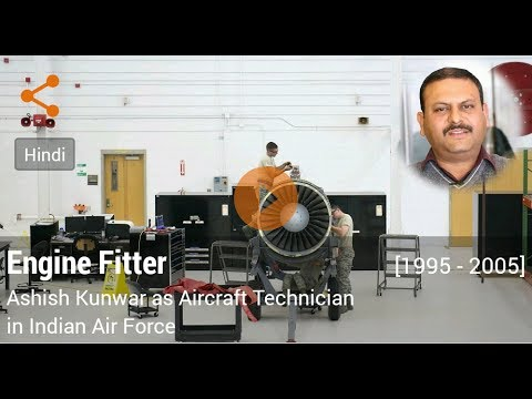 Career in Engine Fitter by Ashish Kunwar (Aircraft Technician in Indian Air Force)