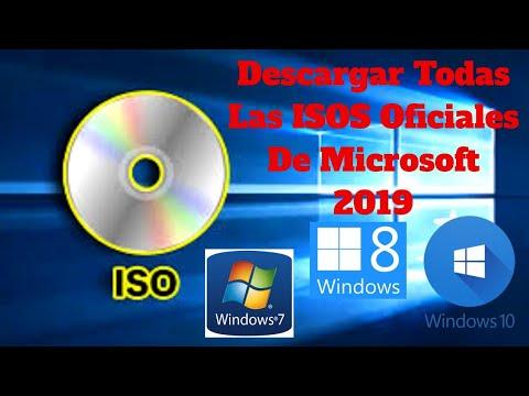 Descargar todas las ISOS oficiales de Windows…