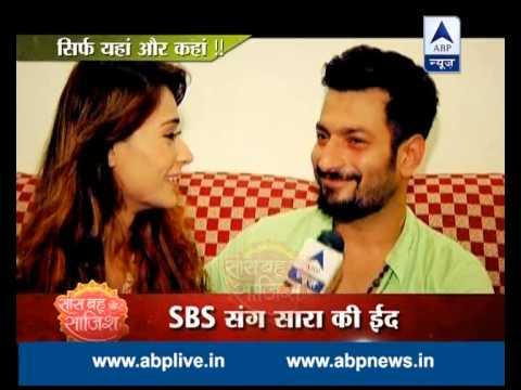 Sara Khan makes siwai for her future husband!