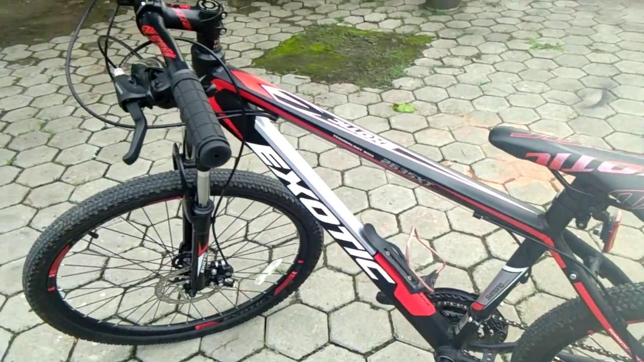 Inilah Sepeda Gunung Exotic 2635XT