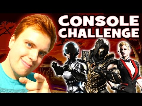 CONSOLE TEAM POWER in MKX Mobile. Surprisingly good!