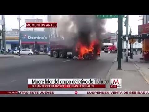 Así fue el operativo en el que murió 'El Ojos' en Tláhuac