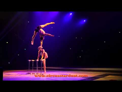 Circus Stardust Entertainment Agency Presents: Amazing Hand Balancing Duo (Artist 01220)