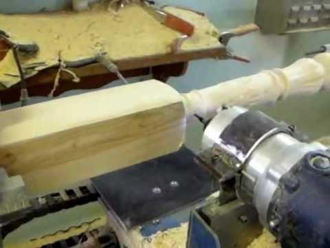 tour bois wood lathe num rique homemade cnc avec mach 3 youtube. Black Bedroom Furniture Sets. Home Design Ideas