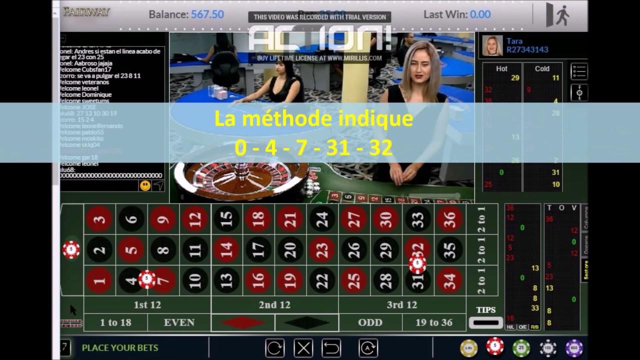 Roulette Strategie Plein