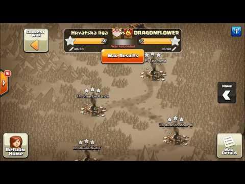 Clash of Clans-Hrvatska liga vs DRAGON FLOWER