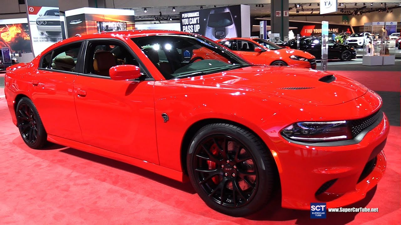 2016 Dodge Charger SRT Hellcat Exterior and Interior Walkaround