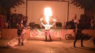 День молоді, виступ групи «Вогняний Тигр»