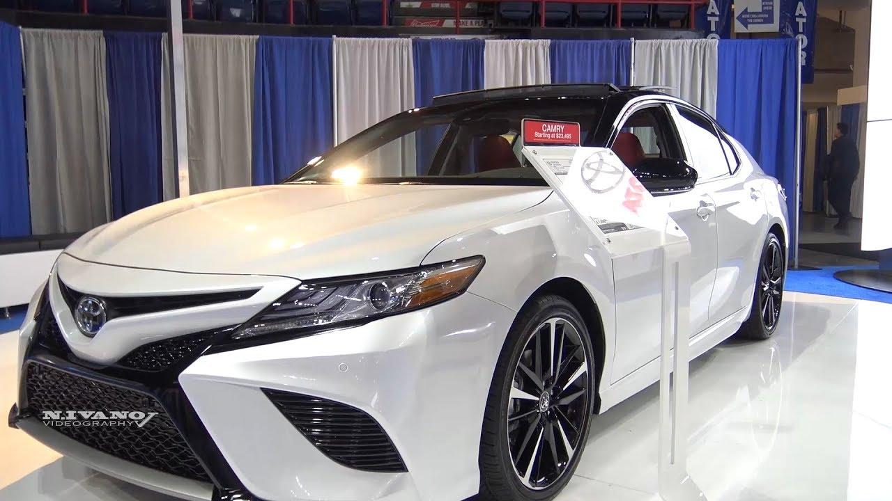 2018 Toyota Camry XSE V6 Sedan - Exterior And Interior Walkaround
