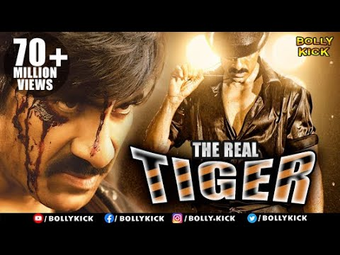 The Real Tiger | Hindi Dubbed Movies | Ravi Teja