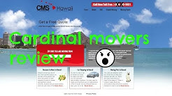 Cardinal Movers Hawaii Shipping Reveiw
