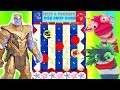 Gambar cover Avengers Thanos Plays Fizzy and Phoebe Disk Drop Game