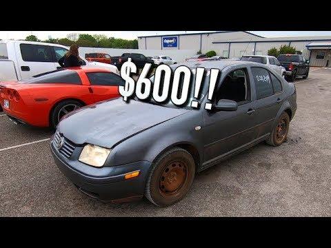 Copart $600 2003 VW Jetta TDI Turbo Diesel Reveal!!