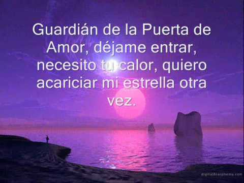 guardian de mi corazon letra