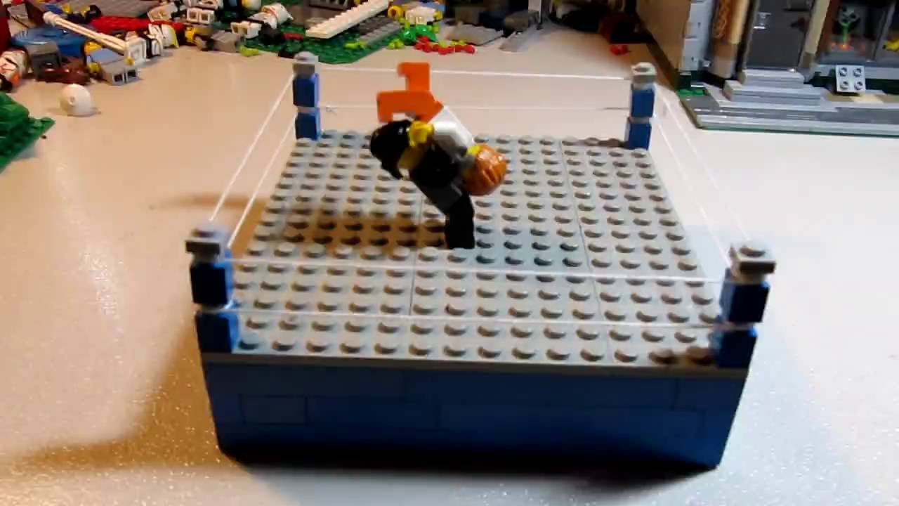 Boxing Ring Lego