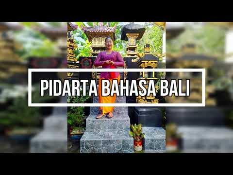 Pidarta Bahasa Bali Youtube