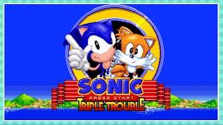 Sonic Fan Games ★ Sonic Triple Trouble 16-Bit