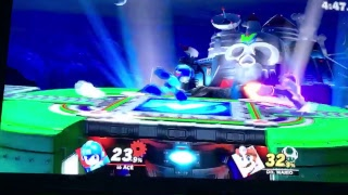 Super Smash Bros ULTAMITE #15 CLASSIC MODE WITH a Toon Link and Mega Man