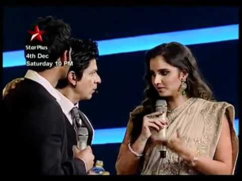 Shahrukh Khan -Sahara India Sports Awards 4 Dec 2010 ( Promo)