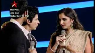 Shahrukh Khan -Sahara India Sports Awards 4 Dec 2010 ( Promo)