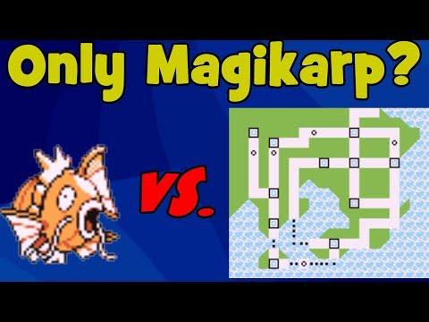 Is it Possible to Beat Pokemon Red/Blue with Just a Magikarp?