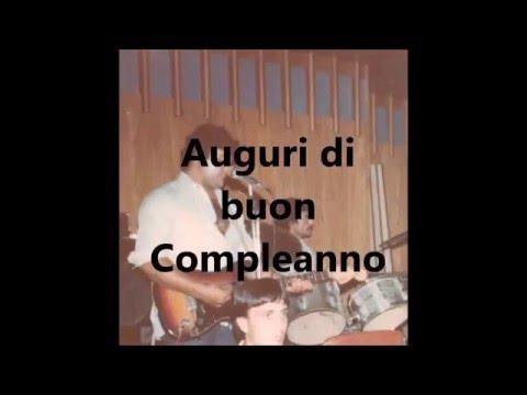 A U G U R I di Buon Compleanno Guitar Rock