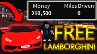 STARTING THE GAME WITH LAMBORGHINI?! | *FREE 200K NO DRIVING* | Roblox Vehicle Simulator
