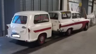 Wartburg 311 312 Camping Trabant 600 Kombi Anhänger DDR IFA Tourist Oldtimer AWE AWZ classic car