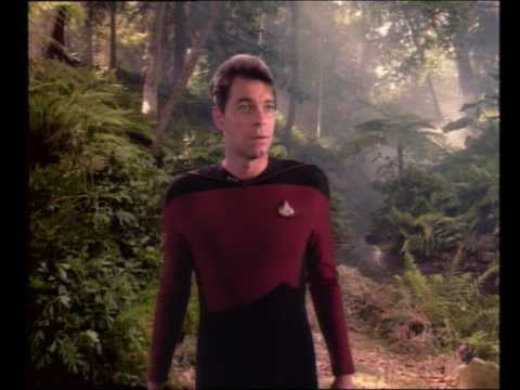 Data on the Holodeck | Star Trek: The Next Generation - Encounter at Farpoint