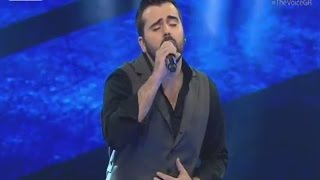 the voice   γιάννης φακίνος   4o blind audition