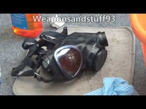 Tutorial: How to clean a gas mask