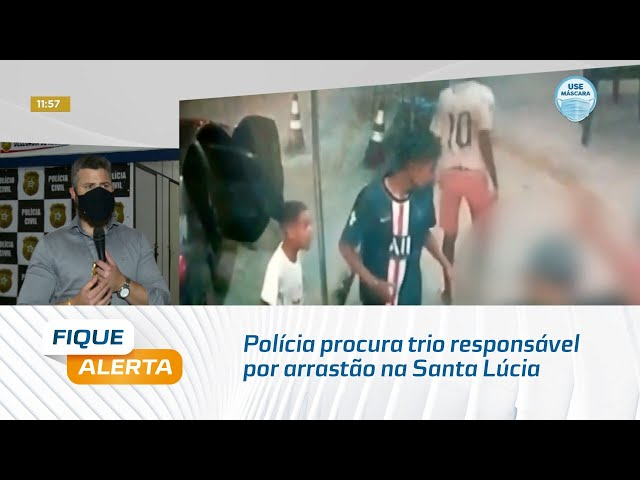 Polícia procura trio responsável por arrastão na Santa Lúcia