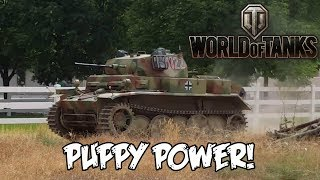 World of Tanks - Puppy Power!