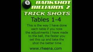 Bankshot Billiards 2 Trick Shots Xbox 360 Tables 1 to 4