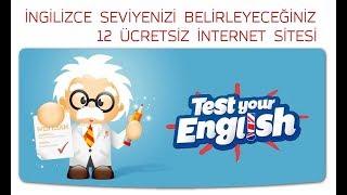 İngilizce Seviyenizi Belirleyeceğiniz 12 Site