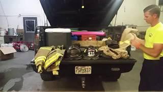 Transporting Fire Gear