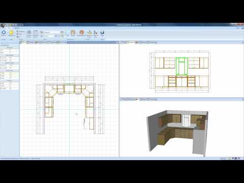 Drawing Walls and Objects in Cabinet Vision