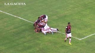 El gol de Bieler en el tiunfo de San Martín ante Los Andes (1-0)