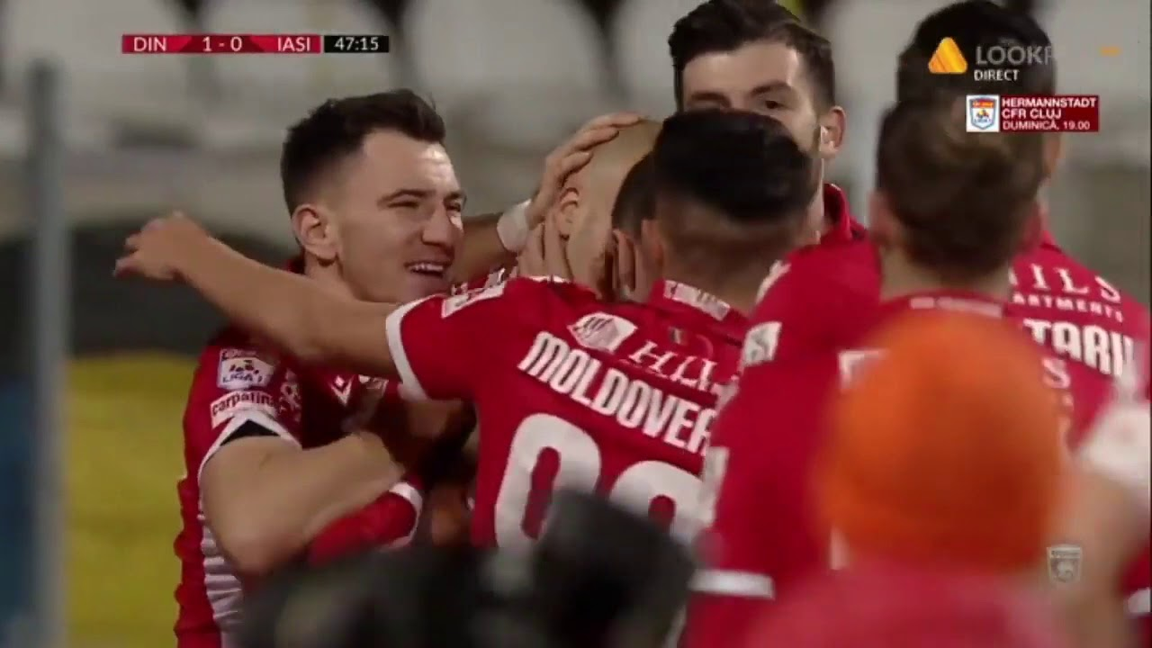 Goool Poli Iasi! Horsia dubleaza avantajul iesinilor in ... |Dinamo- Poli Iasi