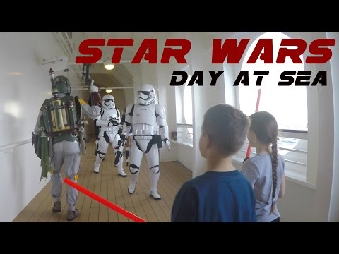 First Star Wars Day at Sea | Disney Cruise Line Fantasy ship | 4K